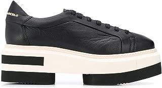 PALOMA BARCELÓ Luxury Fashion Womens RUNAMOUSSEBLACK Black Sneakers | Fall Winter 19
