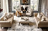 Acanva Luxury Classic Chesterfield Rolled Arm Living Room Sofa, 88
