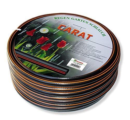 Bradas WFC125 Gartenschlauch Carat 1 Zoll, 25 m, schwarz