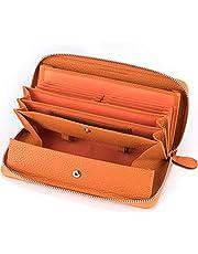 多機能 財布 牛革 レシート すっきり 長財布 レディース カード18枚 大容量 本革 ラウンドファスナー ウォレット BOX型小銭入れ