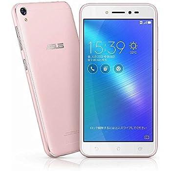 エイスース ASUS ZenFone Live ローズピンク ZB501KL-PK16
