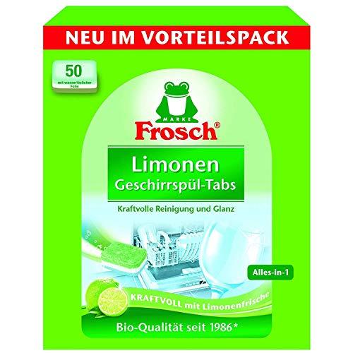 Frosch 2X Limonen Geschirrspül-Tabs, (2 x 50 Stck.)