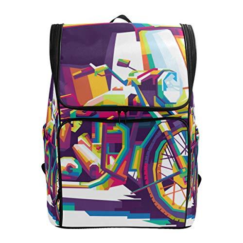 Mokale Siantar Becak Verschiedene andere Pedicabs Indonesien,Rucksack Rucksack Reisetasche Wanderrucksack College Student School Bookbag Reisetasche für Männer oder Frauen