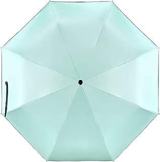 YQRYP Mini CompactSun&RainUmbrella - Lightweight Portable Outdoor Parasol for Women Men Kids, Windproof & UV Protection Windproof Umbrella, Golf Umbrella (Color : Green)