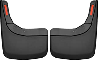 Husky Liners 59261 Black Custom Mud Guards Rear Mud Guards Fits 2019 Chevrolet Silverado 1500-New Body