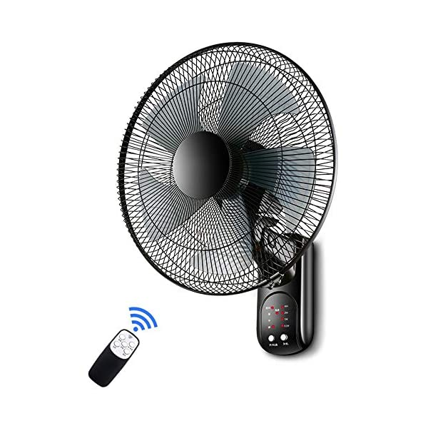 YXB-Ventilador-de-Pared-Giratorio-hogar-con-Silencio-con-Temporizador-Color-Control-Remoto-tamao-18-Pulgadas