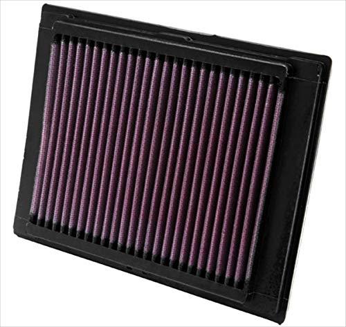 K&N 33-2853 Motorluftfilter: Hochleistung, Prämie, Abwaschbar, Ersatzfilter, Erhöhte Leistung, 2002-2012, Fusion, Fiesta V, 2