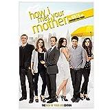 Jhmjqx Intervento How I Met Your Mother Serie TV Classic Vintage Poster Canvas Painting Poster da Parete Home Decor 50x70 cm x1 No Frame