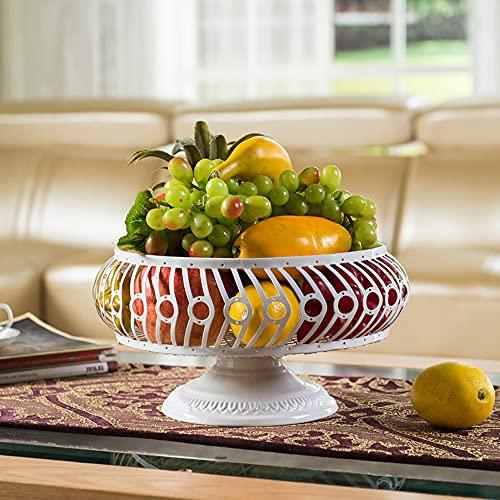 ADISVOT Modern Kitchen Fruit Basket Vegetable Holder for Bread Snacks Households Items Storage for Kitchen/Livingroom Shelf