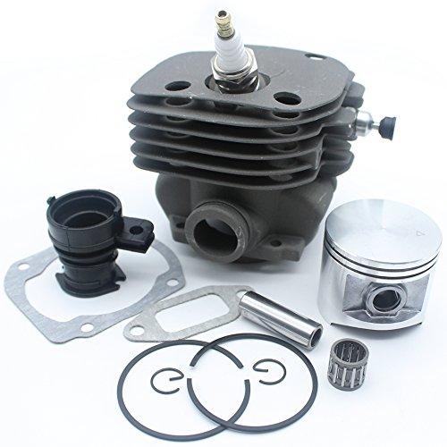 50mm Zylinder Kolben Replica Ansaugkrümmer Dekompressionsventil Kit für Husqvarna 365371372XP 362Chainsaw Motor Motor Teile