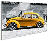 islandburner Bild Bilder auf Leinwand Käfer Kult Auto