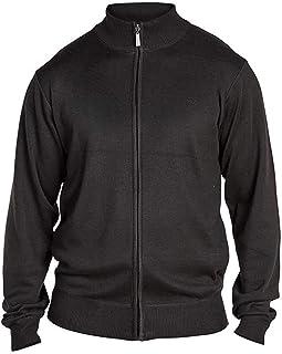 D555 Milburn Plain Jumper Sweater - Black