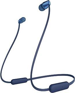 Sony WI-C310 draadloze Bluetooth in-ear hoofdtelefoon (15 uur batterijduur, voice assistent, magnetische oordopjes, ontwer...