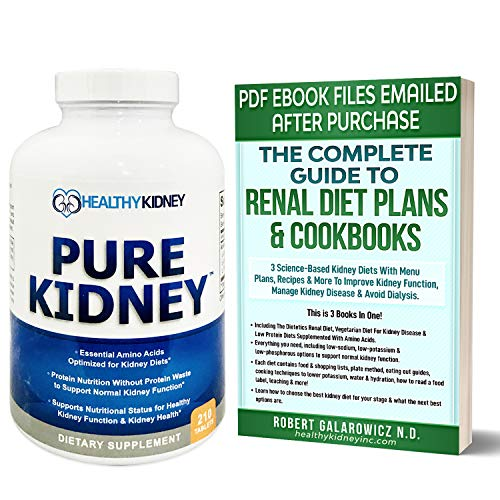 commercial Pure Kidney for Rejuvenation Powerful Kidney Health Supplements and Kidney Diet Diet Cookbook, … nutritional supplement buying guide