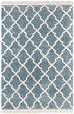 Mint Rugs Pearl Alfombra, Polipropileno, Blau Creme, 200 x 290 cm