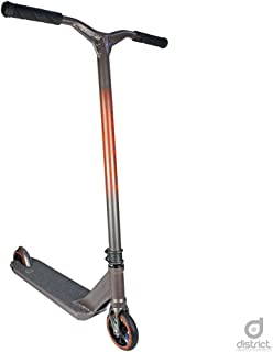 District HTS Pro Scooter - Stunt Scooter - Trick Scooter - Best Expert Level Pro Scooter - for Kids/Teens/Pros Ages 10+ and Heights 5.0ft-6.5ft+ (Titanium Gray)