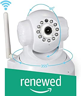 (Renewed) Sricam SP Series SP005 Wireless HD IP Wi-Fi CCTV Indoor Security Camera (White)