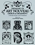 Treasury of Art Nouveau Design & Ornament (Dover Pictorial A