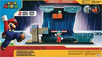 Super Mario Underground Playset With Ice Mario Action Figure