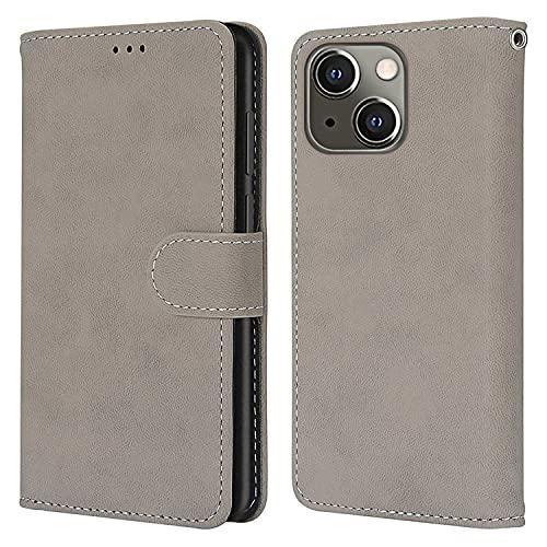 nancencen Kompatibel mit Nokia Lumia 625 Handyhülle,Wallet Karten Slot Vintage Gefrostet Flip Cover Schutzhülle (Anti-Fall) für Nokia Lumia 625 - Grau