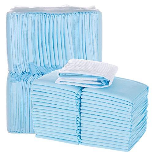 MTYQE Almohadillas De Cama Desechables Ultra Absorbentes: Almohadillas Extra Gruesas para Enuresis, Incontinencia, Muebles, Mascotas Y Más, Paquete De 20~100,45 * 60cm