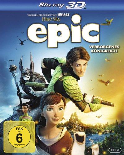 Epic - Verborgenes Königreich [Blu-ray 3D]+[Blu-ray 2D]+DVD