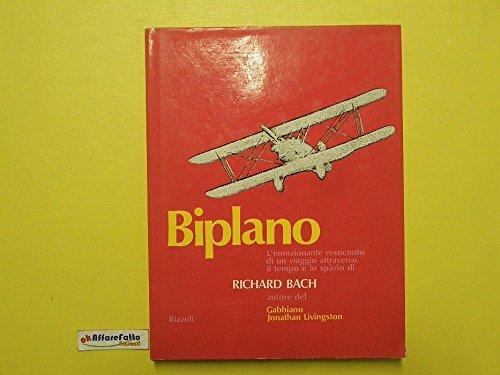 J 139 LIBRO BIPLANO DI RICHARD BACH 1A ED DEL 1974