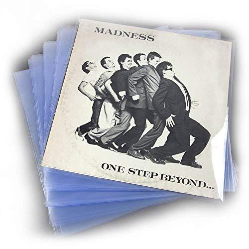 """POCHETTES pour vinyles en polypropylene, HAUT DE GAMME 120 microns, 50 unités (33 tours, 12"""") POUR ALBUM SIMPLE DOUBLE ET GATEFOLD"""
