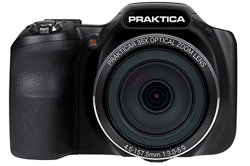 PRAKTICA Luxmedia Z35 Bridge Camera 16MP 35xZoom 3inch LCD FHD Video Black