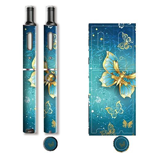 電子たばこ タバコ 煙草 喫煙具 専用スキンシール 対応機種 プルーム テック プラス Ploom TECH+ Ploom Tech Plus ロイヤルジュエリ (1) イメージデザイン 08 Royal Jewely 1 01-pt08-2339