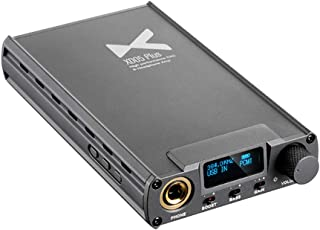 Xduoo XD05 Plus Mini Headphone Amplifier XMOS XU208 AK4493EQ USB/Coax/Opt/Aux in 1000mW/32Ω Bluetooth Decoder Power Portab...
