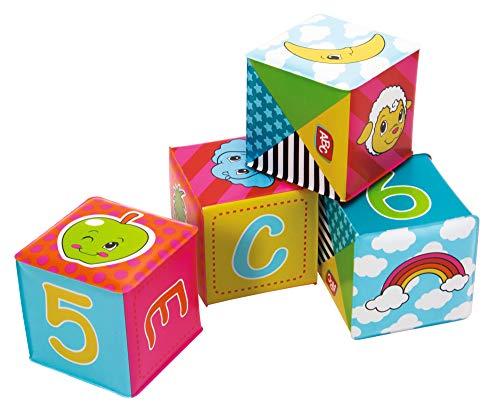 Simba - 104011642 - Cubes pour Bébés - ABC - 6 Pièces