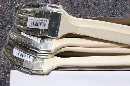 48 Stück Heizkörperpinsel 60mm mit grauen Chinaborsten - 0,92 EUR / Stück