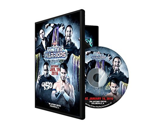 ROH - Ring of Honor Winter Warriors Tour 2016 Collinsville, IL Event DVD