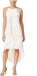 thalia sodi ruffled high low dress