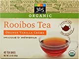 365 Everyday Value, Organic Rooibos Tea, Orange Vanilla Crème, 40 ct