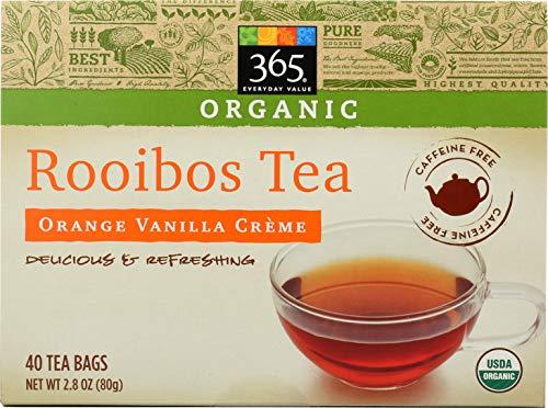 365 Everyday Value, Organic Rooibos Tea, Orange Vanilla Crème, 40 ct