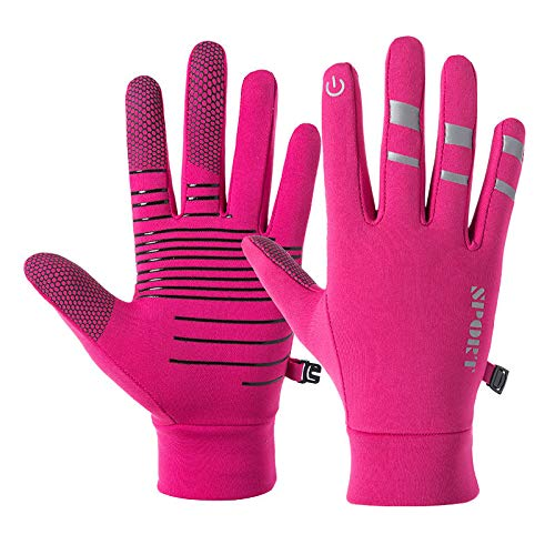 YHT Workout Gloves, Full Palm Protection & Extra Grip, Gym Gloves for Weight Lifting, Training, Fitness, Exercise (Men & Women) (Pink,M)