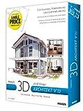 Franzis 3D-Architekt V 7, CD-ROM 2D/3D-Design. Bauherren, Architekten, Renovierung, Garten, Makler, Anbau, Bungalow. Für Windows 98 SE/ME/XP -