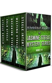 Jasmine Steele Mysteries Vol. 1-5 by [Kimberly Amato]