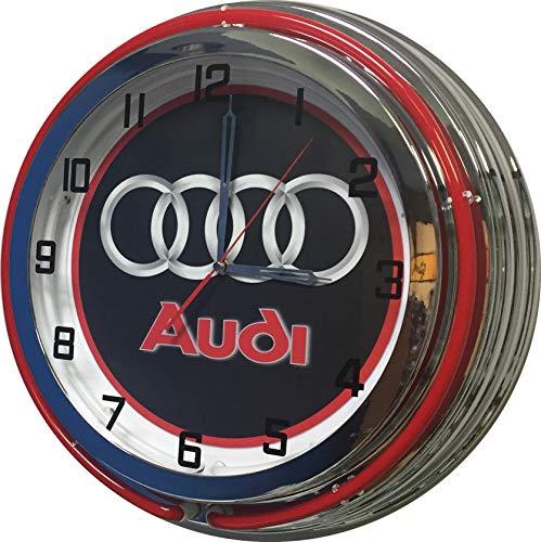 AUDI 19 inch Neon Clock