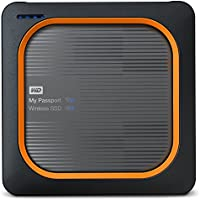 WD WDBAMJ0010BGY-EESN My Passport Wireless SSD 1TB, Gray Emea