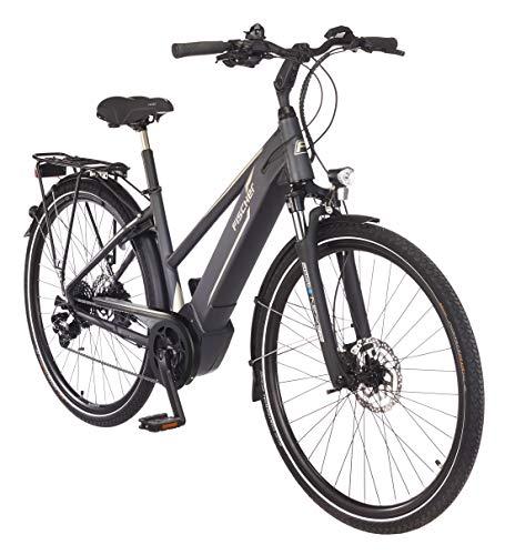 FISCHER Damen – E-Bike Trekking VIATOR 5.0i (2019), grau matt, 28″, RH 44 cm, Brose Mittelmotor 50 Nm, 36V Akku Bild 5*