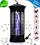 Bug Zapper Insect Killer Fly Trap - Indoor & Outdoor - Mosquito Trap Insect Zapper - Fly Zapper Mosquito Killer Safe & Non-Toxic - Silent & Effortless Operation pest control - Electronic Insect Killer
