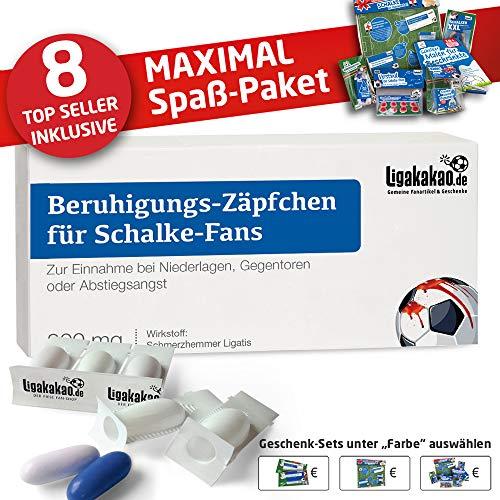 Alles für Schalke-Fans by Ligakakao.de vereins-Fahne ist jetzt das MAXIMAL SPAß Paket