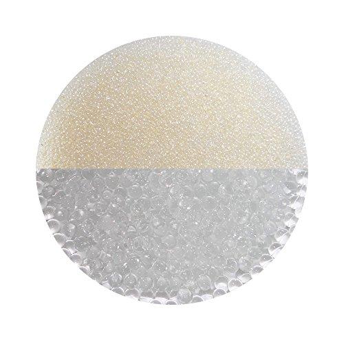 trendfinding Granulato per terriccio Artificiale - Perle d'Acqua da 1-2 mm - Trasparente