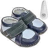 Freycoo , Chaussures Premiers Pas pour bébé (Fille) Bleu Azul