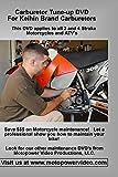 Motorcycle and ATV Carburetor Tune-up DVD For Keihin Carburetors...