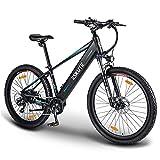 ESKUTE E-Bike E Mountainbike 27,5 Zoll Pedelec,Voyager' Elektrofahrrad mit 36V 12.5Ah versteckte Lithium-Akku 250W Heckmotor