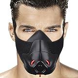 Masque d'Entraînement Masque Respiratoire Sport Masque d'Endurance Masque Fitness Masque de Course à...